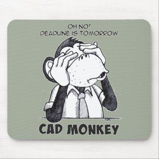 Tapis De Souris Le singe de DAO ne voient aucun Mousepad mauvais