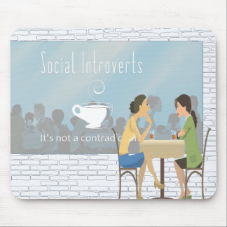 Tapis De Souris Le Social Introverts Mousepad