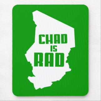 Tapis De Souris Le Tchad est rad (solide)