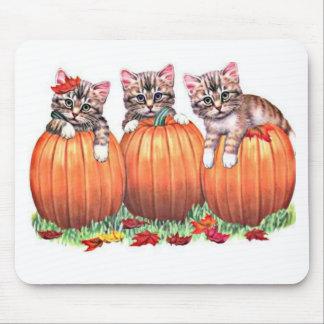 Tapis De Souris Le thanksgiving est le Meow du chat