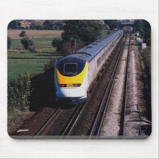 Tapis De Souris Le train de voyageurs d'Eurostar