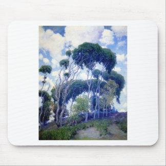 Tapis De Souris Le type s'est levé - eucalyptus de Laguna - chef