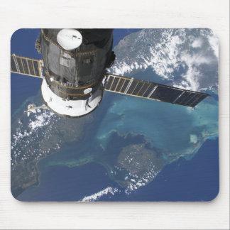 Tapis De Souris Le vaisseau spatial accouplé du progrès 22