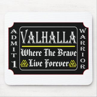 Tapis De Souris Le Valhöll admettent 1 guerrier où Brave peut