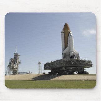 Tapis De Souris L'effort de navette spatiale approche le lancement