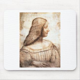 Tapis De Souris Leonardo da Vinci - peinture d'Isabella D'este