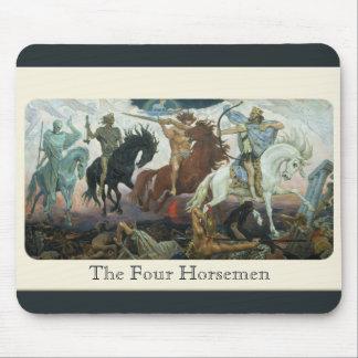 Tapis De Souris Les 4 cavaliers de l'apocalypse