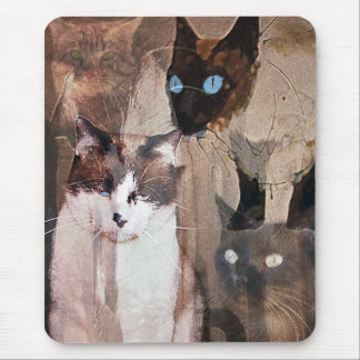 Tapis De Souris Les chats