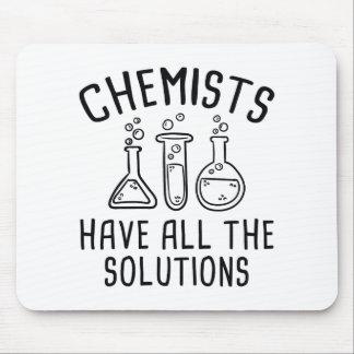 Tapis De Souris Les chimistes ont toutes les solutions