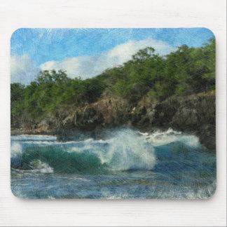Tapis De Souris Les eaux hawaïennes