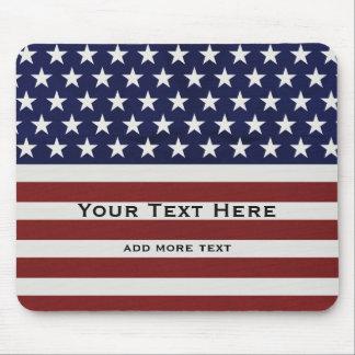 Tapis De Souris Les Etats-Unis drapeau américain coutume