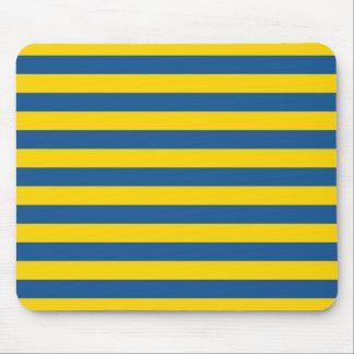 Tapis De Souris Les lignes de rayures de drapeau de la Suède