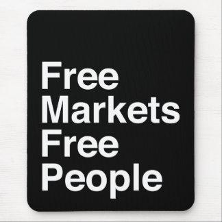 Tapis De Souris Les marchés libres libèrent des personnes
