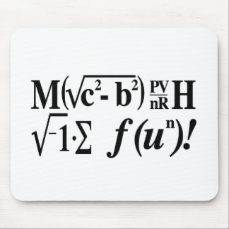 Tapis De Souris Les maths sont amusement !