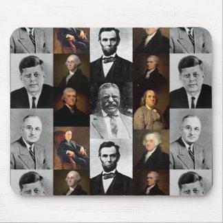 Tapis De Souris Les Présidents Plus Hamilton des USA et histoire