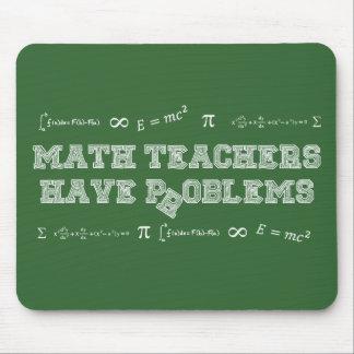 Tapis De Souris Les professeurs de maths ont des problèmes