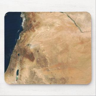 Tapis De Souris Les terres de l'Israël le long du rivage oriental