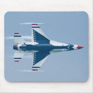 Tapis De Souris Les Thunderbirds de l'U.S. Air Force mènent la