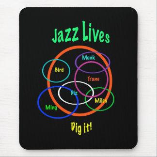 Tapis De Souris Les vies de jazz