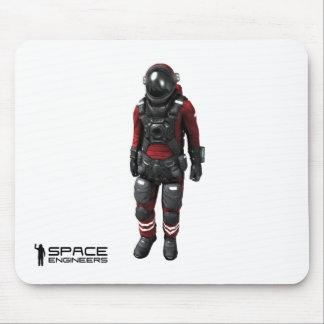 Tapis De Souris L'espace machine l'astronaute de blanc de Mousepad