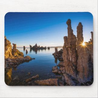 Tapis De Souris Lever de soleil au lac mono, la Californie