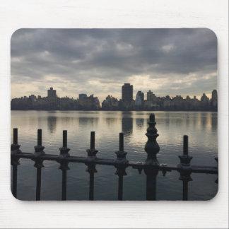 Tapis De Souris Lever de soleil NYC de New York City de réservoir