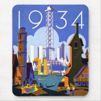 Tapis De Souris L'Exposition universelle 1934 de Chicago