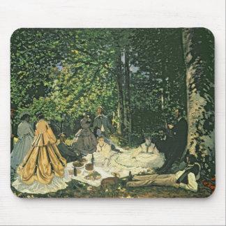 Tapis De Souris l'Herbe de sur de Claude Monet | Le Dejeuner,