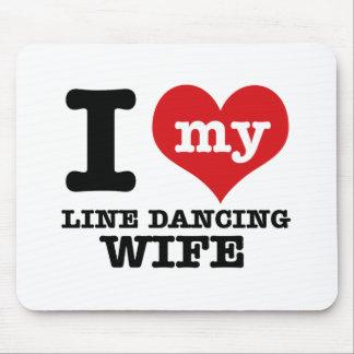 Tapis De Souris Ligne épouse de danse