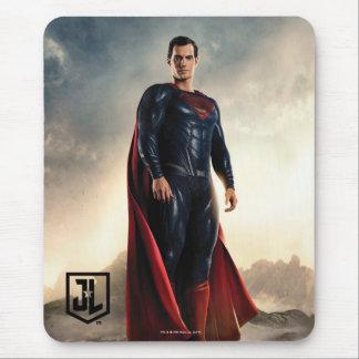 Tapis De Souris Ligue de justice | Superman sur le champ de