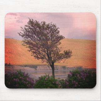 Tapis de souris lilas d'arbre