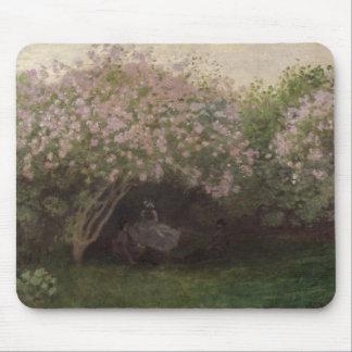 Tapis De Souris Lilas de Claude Monet |, temps gris, 1872