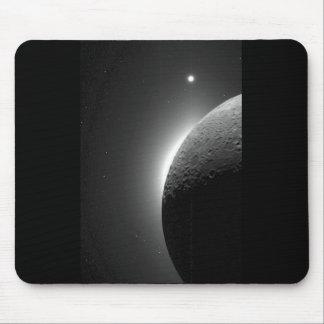 Tapis De Souris L'image magnifique de la NASA, la lune s'est