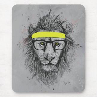 Tapis De Souris Lion de hippie