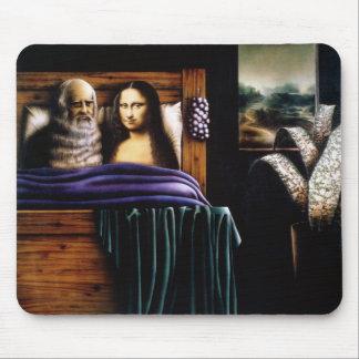 Tapis De Souris Lion et Mona