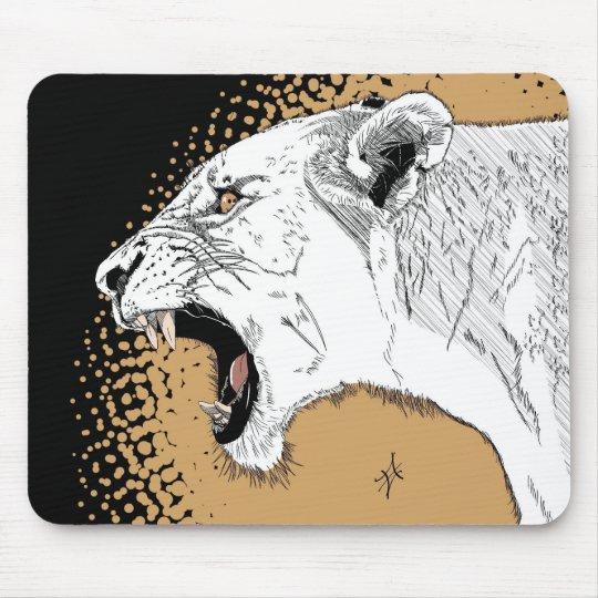 Tapis De Souris lionne