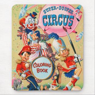 Tapis De Souris Livre de coloriage superbe vintage de Duper de