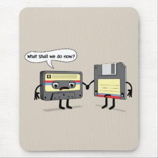 Tapis De Souris L'Obsoletes (rétro enregistreur à cassettes à