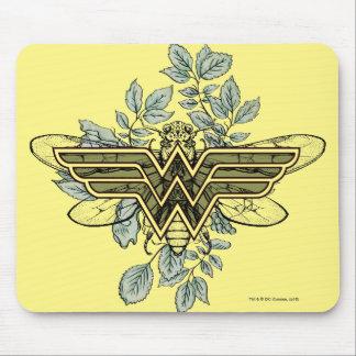 Tapis De Souris Logo de reine des abeilles de femme de merveille
