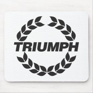 Tapis De Souris Logo Mousepad de Triumph de guirlande