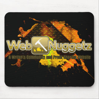 Tapis De Souris logo Mousepad de Webnuggetz.com