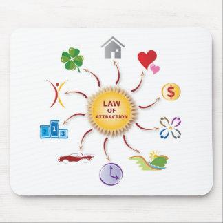 Tapis De Souris Loi de l'illustration de Sun d'attraction