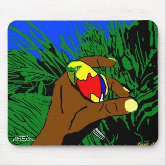 """Tapis de Souris """" L'Oiseau d'Or """""""