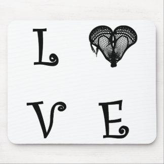 TAPIS DE SOURIS LOVE31