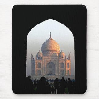 Tapis De Souris Lumière du Taj Mahal de photo d'architecture de