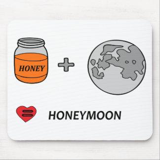 Tapis De Souris lune de miel