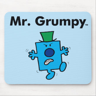 Tapis De Souris M. Grumpy de M. Men | est un bougon