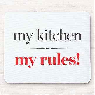 Tapis De Souris Ma cuisine, mes règles
