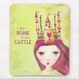 Tapis De Souris ma maison est mon château
