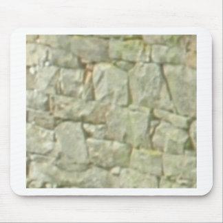 Tapis De Souris maçonnerie en pierre blanche